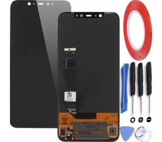 Display For Xiaomi Mi 8, Color Black  - 1