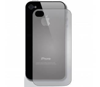 Protector de Cristal Templado Trasero para iPhone 4 ARREGLATELO - 1