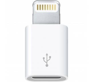Adaptador Original Apple MD820ZM/A Micro USB a Lightning Reacondicionado  - 2