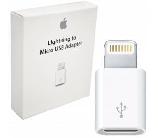 Adaptador Original Apple MD820ZM/A Micro USB a Lightning Reacondicionado  - 1
