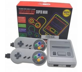 Super Mini NES clássic TV Video console 621 Games  - 1