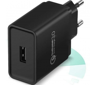 Quick Charger QC 3.0 Universal Charger - Color Black