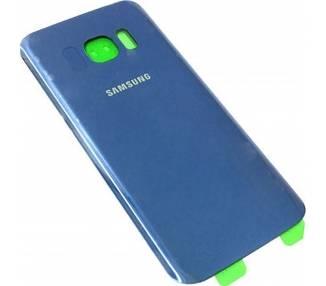 Tapa Trasera para Samsung Galaxy S7 Edge Azul Electrico  - 1