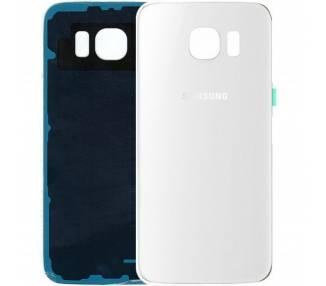 Tapa Trasera para Samsung Galaxy S6 Edge Plus - S6 Edge+ Blanca  - 1