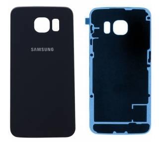 Tapa Trasera para Samsung Galaxy S6 Edge Plus - S6 Edge+ Negra  - 1