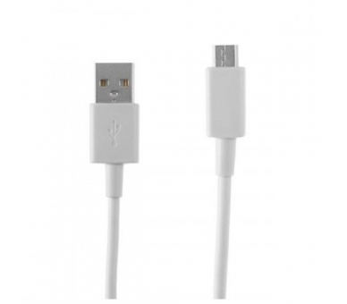 Cable Micro usb color blanco para Samsung Sony Nokia HTC LG Blackberry Huawei - 1