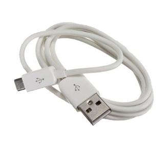 Cable micro usb color blanco para Samsung Sony Nokia HTC LG Blackberry Huawei ARREGLATELO - 4