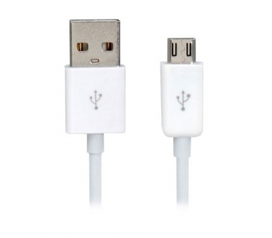 Cable Micro usb color blanco para Samsung Sony Nokia HTC LG Blackberry Huawei - 7