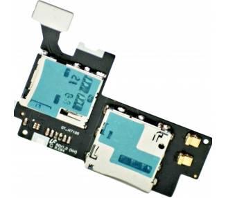 Flex Sim-kaart en Micro SD voor Samsung Galaxy Note 2 N7100