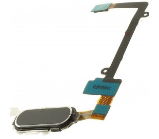 Fingerabdruck Home Button Flex für Samsung Galaxy Note 4 Schwarz