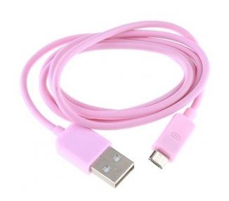 Micro USB Cable - Rose Color ARREGLATELO - 3