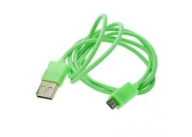 Micro USB Cable - Green Color ARREGLATELO - 3