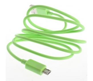 Micro USB Cable - Green Color ARREGLATELO - 4