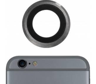 Lente Cristal Camara Principal para iPhone 6S Gris