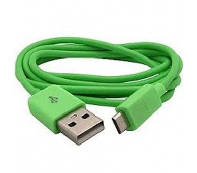 Micro USB Cable - Green Color  - 5