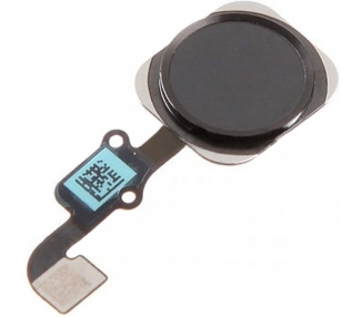 Flex + Home Button voor iPhone 6S Grijs Zwart