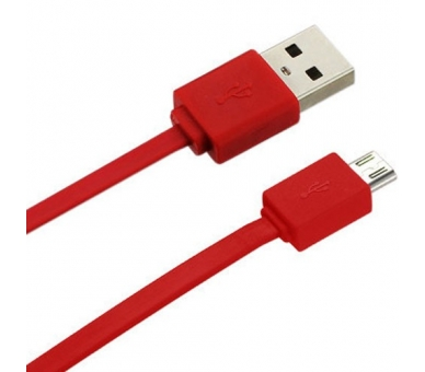 Micro USB Cable - Red Color - 4