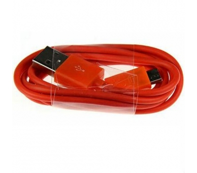 Micro USB Cable - Red Color  - 5