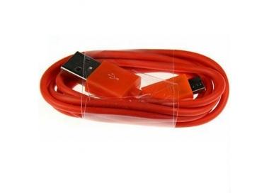 Cable micro usb color Rojo para Samsung Sony Nokia HTC LG Blackberry Huawei ARREGLATELO - 5
