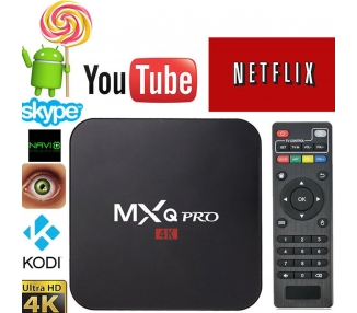 Smart TV Box Android MXQ PRO 4K S905X Quad Core Multimedia Box WiFi 4k Netflix  - 1