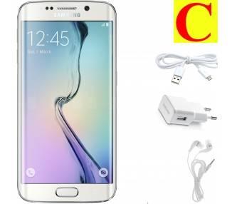 Samsung Galaxy S6 Edge 32GB - Blanco - Libre - Grado C - Samsung - 1