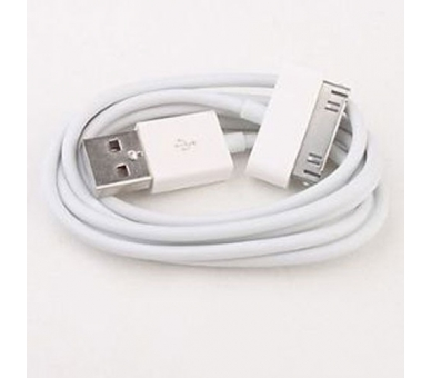 iPhone 4/4S Cable - White Color - 1