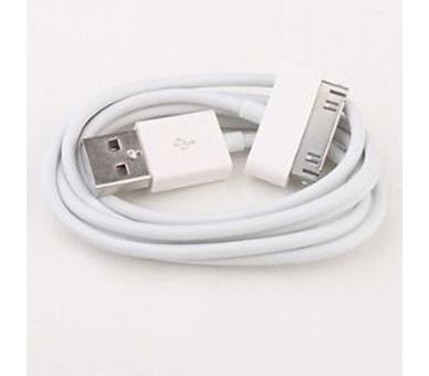 iPhone 4/4S Cable - White Color ARREGLATELO - 1