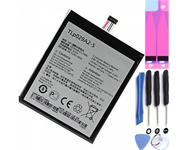 BATERIA Batería TLP029A2-S Original Alcatel Idol 3 OT-6045 6045Y 6045i 6045K  - 1