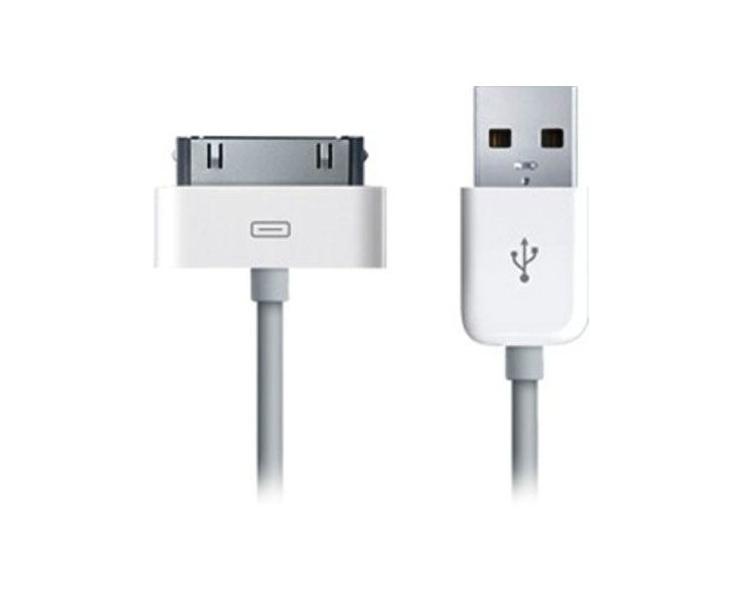 iPhone 4 / 4S Kabel - Weiße Farbe ARREGLATELO - 2