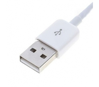 Cable usb carga cargador datos sync BLANCO para iPhone Ipod Ipad 3 3G 3GS 4 4S ARREGLATELO - 4