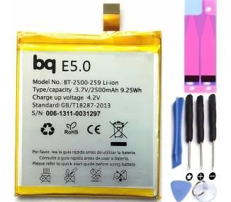 Kompatybilny akumulator do BQ Aquaris E5 / E5 HD / E5 FHD / 2500mA