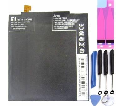 Batterij voor Xiaomi MI3 MI 3, originele MPN: BM31 Xiaomi - 1