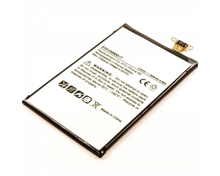 Battery For HTC 8X , Part Number: BM23100  - 1