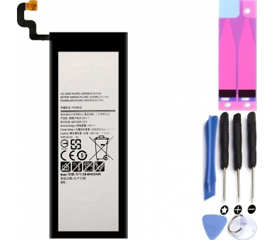 Battery For Samsung Galaxy Note 5 , Part Number: EB-BN920ABE  - 1