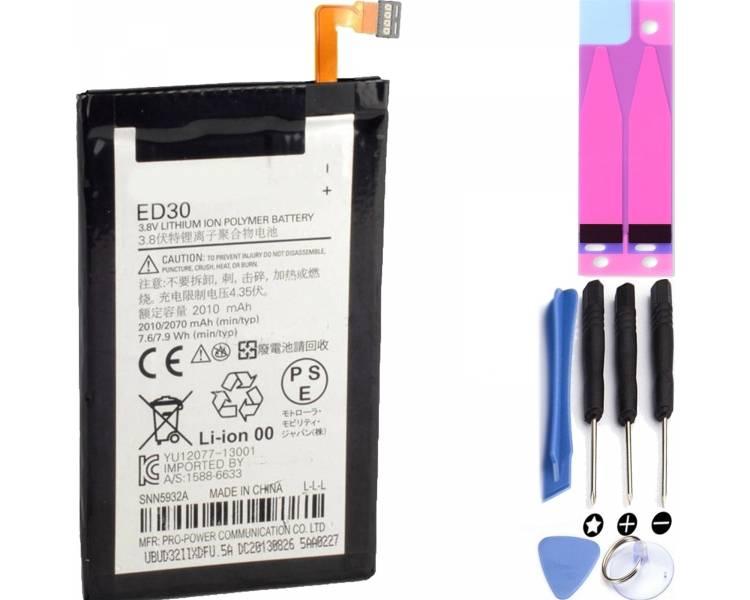 Bateria Original para MOTOROLA MOTO G XT1032 / ED30 XT1031 * XT1033 * XT1039  - 1