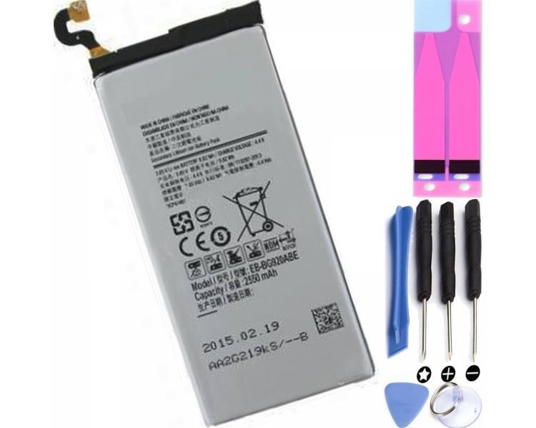 Compatibele batterij voor Samsung Galaxy S6 G920 EB-BG920ABE - originele capaciteit  - 1