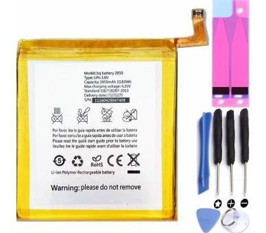 Bateria Compatible BQ Aquaris E5 4G 2850mAh - E 5 E5.0 4G  - 1