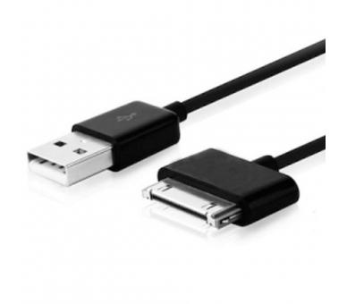 Cable usb carga cargador datos sync NEGRO para iPhone Ipod Ipad 3 3G 3GS 4 4S - 4