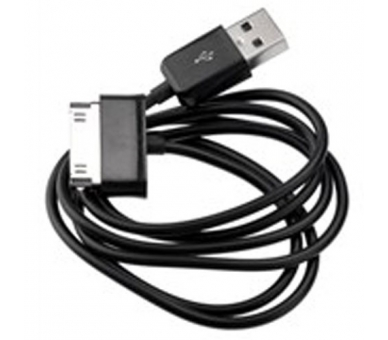 Cable usb carga cargador datos sync NEGRO para iPhone Ipod Ipad 3 3G 3GS 4 4S - 5