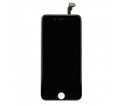 Pełny ekran z wyświetlaczem LCD i ramką dotykową dla iPhone 6 Czarny Czarny ARREGLATELO - 6