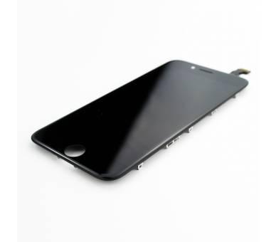 """Bildschirm Display mit Rahmen für Apple iPhone 6 4.7"""" Schwarz Schwarz ARREGLATELO - 7"""