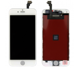 Pełny ekran dla iPhone 6 Retina White White - Oryginalna jakość