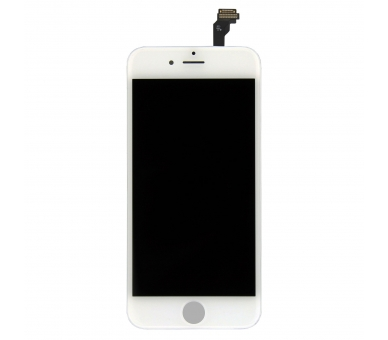 Vollbild für iPhone 6 Retina Weiß Weiß - Originalqualität ARREGLATELO - 3