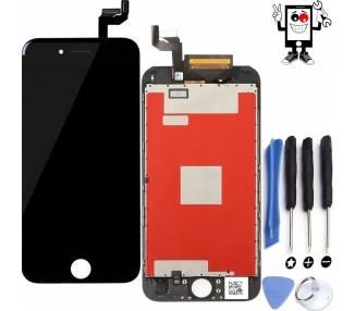 Pełny ekran Retina z wyświetlaczem LCD i dotykiem dla iPhone 6S Czarny Czarny