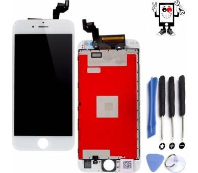 "Pantalla Completa para Apple iPhone 6S 4,7"" Blanco Blanca ULTRA+ - 1"