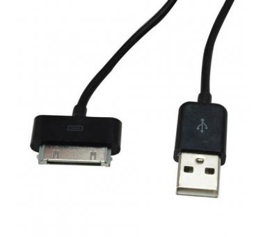 Cable usb carga cargador datos sync NEGRO para iPhone Ipod Ipad 3 3G 3GS 4 4S - 7