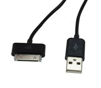 Cable usb carga cargador datos sync NEGRO para iPhone Ipod Ipad 3 3G 3GS 4 4S ARREGLATELO - 7