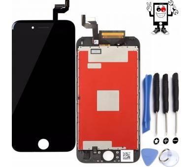 Pełny ekran Retina dla iPhone 6S Plus 6S + Czarny Czarny ARREGLATELO - 1