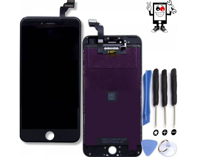 Pantalla Completa para iPhone 6 Plus Negro Negra ARREGLATELO - 1