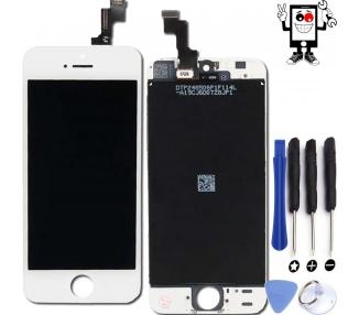 Pantalla Completa para iPhone 5C Blanco Blanca ARREGLATELO - 1
